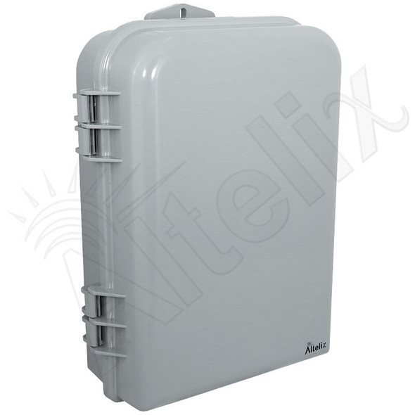 Altelix 15x10x5 Inch PC+ABS Polycarbonate / ABS Weatherproof NEMA Enclosure with Aluminum Mounting Plate