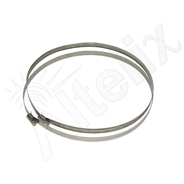 Adjustable Stainless Steel Mounting Bands for Pole Diameter up to 9.5 Inches