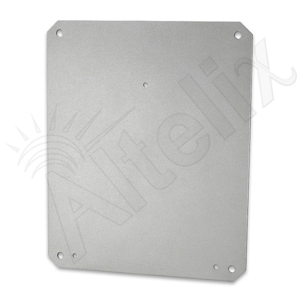 Aluminum Equipment Mounting Plate for Altelix NF100806 Series Enclosures