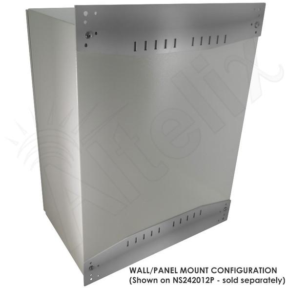 Stainless Steel Pole Mount / Flange Mount Kit for Altelix NFC242009 & NS242012 Series NEMA Enclosures