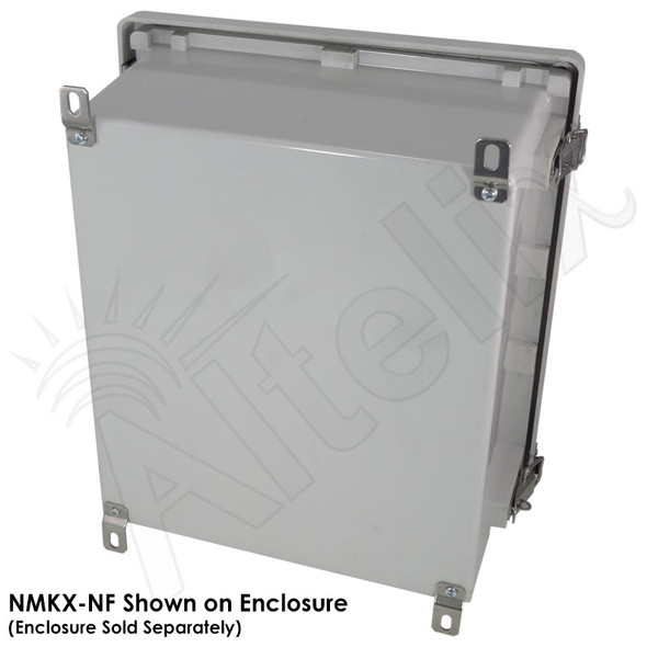 Stainless Steel Wall Mount Kit for Altelix NF141206 & NF141208 Series Enclosures