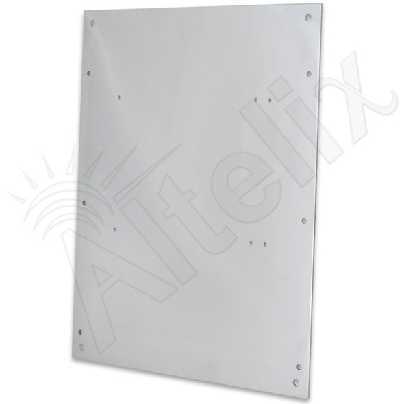 Aluminum Equipment Mounting Plate for Altelix NF141206 & NF141208 Series Enclosures