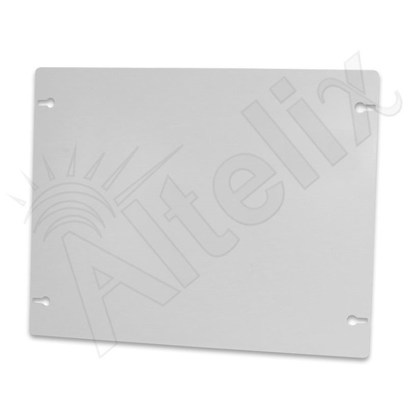 15.2 x 12.1 In. Blank Non-Metallic Polyester Equipment Mounting Plate for NFC161608, NFC201608 & NFC241609 Series Enclosures