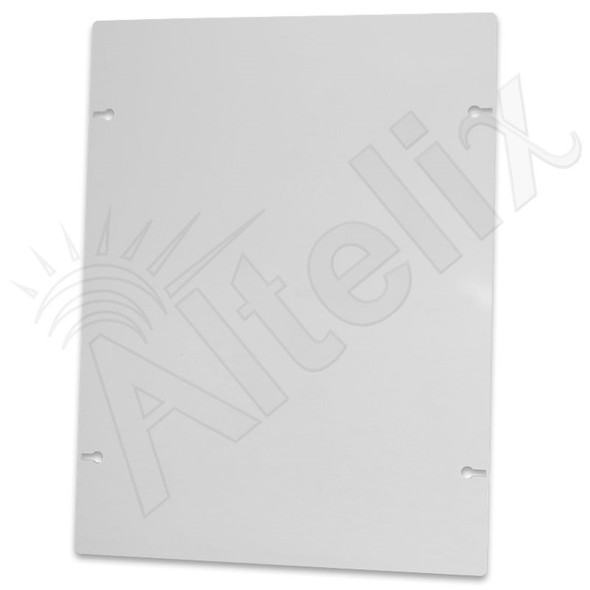 Altelix 15x20 Non-Metallic RF Transparent Polyester Equipment Mounting Plate for NFC161608, NFC201608 & NFC241609 Series Enclosures
