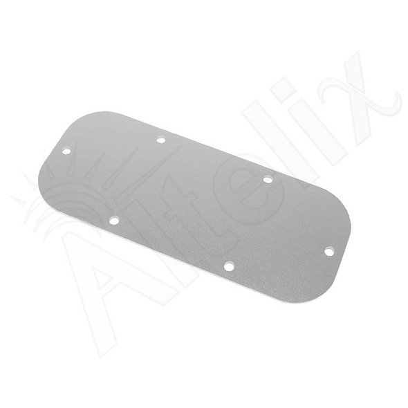 Blank Aluminum Access Panel for NS121006 Enclosures
