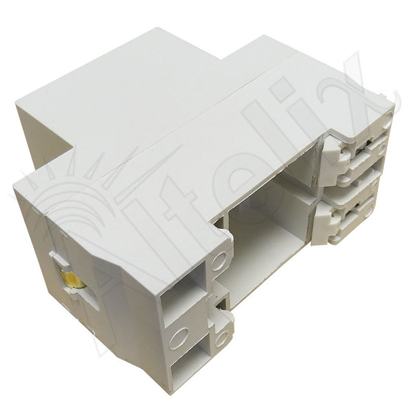 DIN Rail Mount 3 Prong USA Power Receptacle