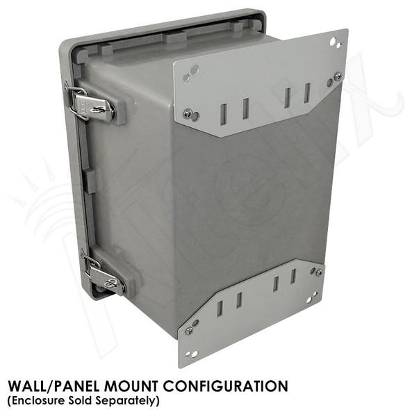 Pole Mount / Flange Mount Kit for Altelix NF100806, NS080806 & NS100806 Series NEMA Enclosures