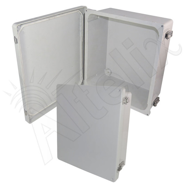 Altelix 14x12x6 Fiberglass FRP Weatherproof NEMA 4x Enclosure