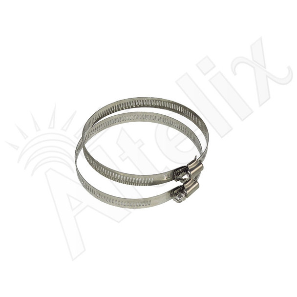 Adjustable Stainless Steel Mounting Bands for Pole Diameter up to 4 Inches