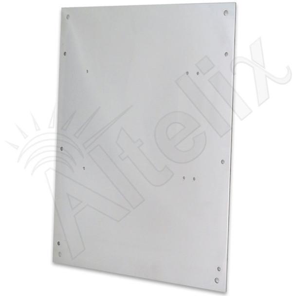 Aluminum Equipment Mounting Plate for Altelix NF141206 & NF141208 Series Enclosures