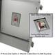 Altelix 14x12x8 NEMA 4X Fiberglass Outdoor Weatherproof IP Telephone Call Box with Emergency Phone Label