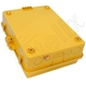 Altelix 14x11x5 Yellow Vented Polycarbonate + ABS Weatherproof NEMA Enclosure
