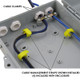 Altelix 13x10x4 IP66 NEMA 4X PC+ABS Plastic Weatherproof Utility Box with Hinged Door