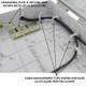 Altelix 14x11x5 Pole Mount Yellow PC+ABS Polycarbonate / ABS Weatherproof NEMA Enclosure