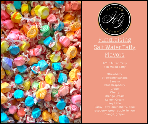 Mixed Bag Salt Water Taffy 1/2 lb Bag
