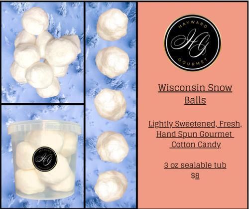 Wisconsin SNOW BALLS!!!