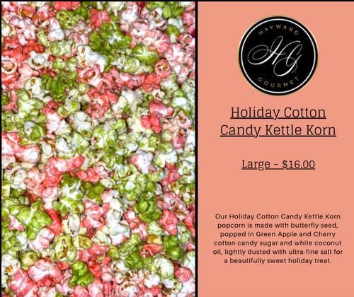 Holiday Mixed Kettle Korn