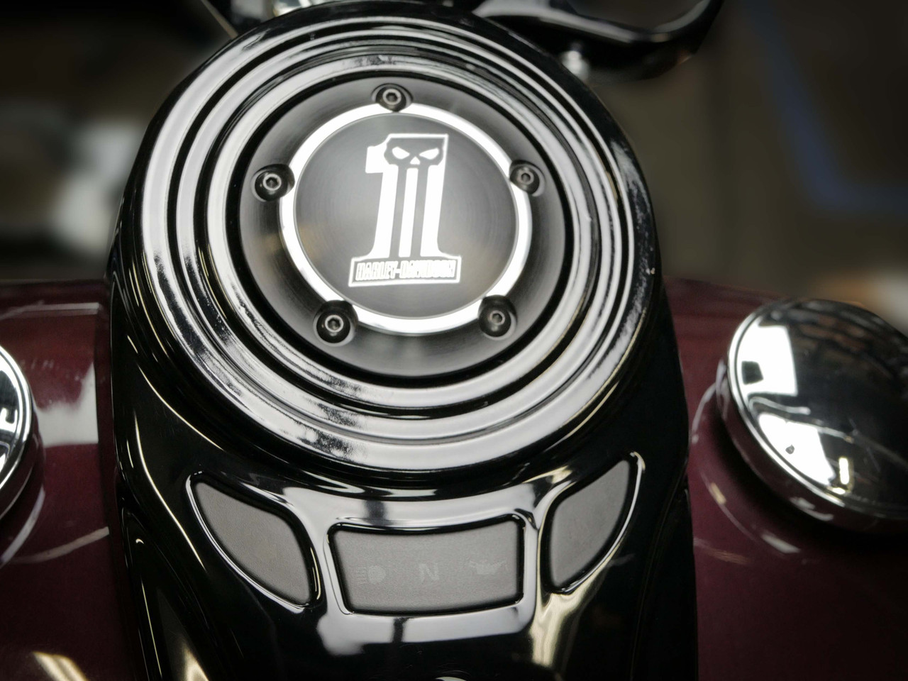 Block-off Plate for 2018-Later MK8 Softail FLSL, FLHC/S, & FLDE (Timer Cover Style)