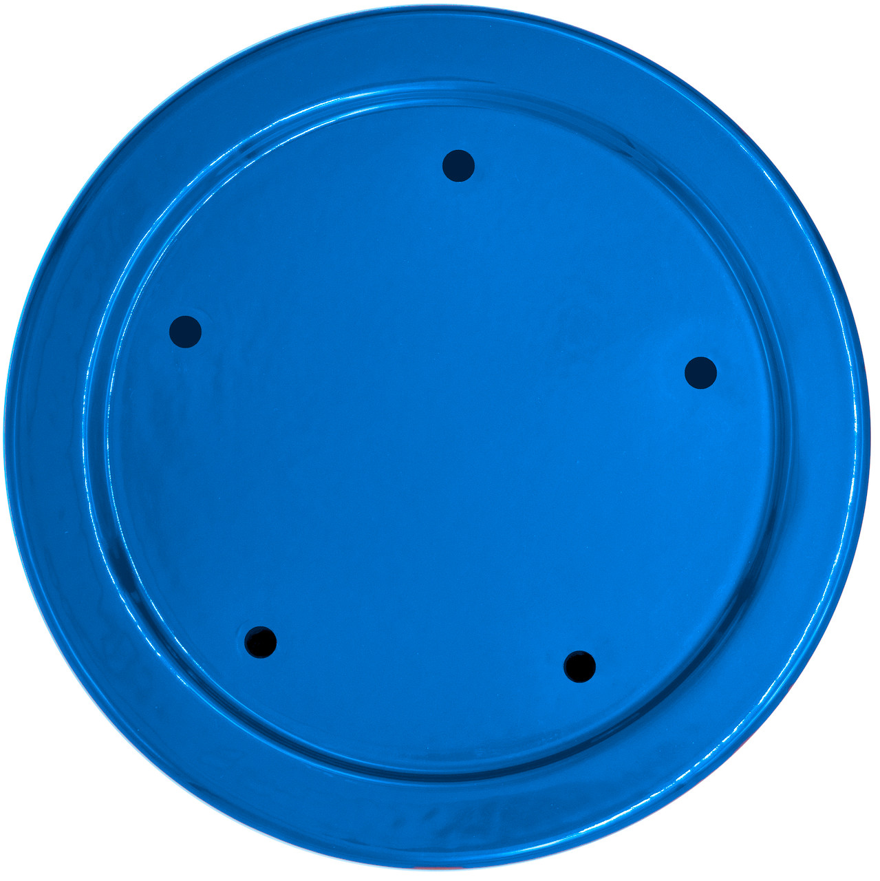 Speedo Block-Off Plate -Timer Cover -Candy Blue