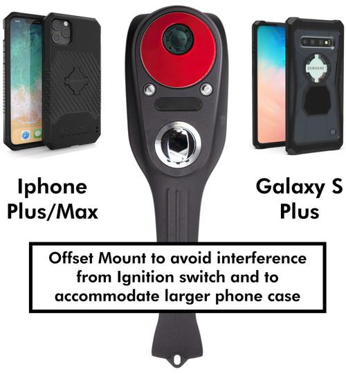 Speedo Block-Off Plate -Phone Mount (IPhone Plus/Max - Samsung Galaxy S Plus)