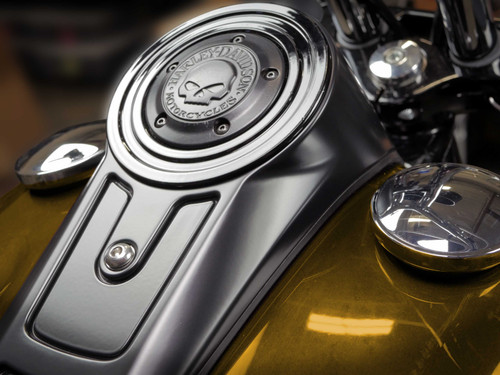 Block-off Plate for 2018-Later MK8 Softail FLSB, & FLFB/S (Timer Cover Style)