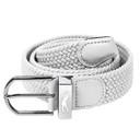 White Stretch Webbing Ladies Golf Belt