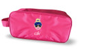 The Charley Hull Collection Golf Shoe bag - Charley caricature -Pink
