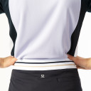 Daily Sports Zenia Cap Sleeve Polo Shirt - Salvia