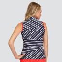 Tail Ladies Golf Beck Sleeveless Polo - Spar Stripe