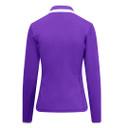 Pure Golf Ladies Mist Full Zip Mid Layer - Purple