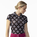 Daily Sports Ladies Ruthie Sheer Mesh Cap Sleeve Polo