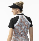 Daily Sports Ladies Leonya Short Sleeve Polo - Autumn Leaf