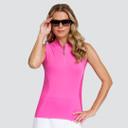 Tail Ladies Golf Kea Sleeveless Polo - Petunia