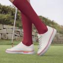 Ecco Ladies Golf Tray Golf Shoes- Alusilver