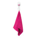 Lady Golfer Retractable Towel - Pink