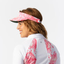 Daily Sports Ladies Adelina Telephone Wire Visor - Fruit Punch