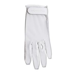 Luxury Cabretta Leather Sun Glove- White