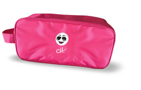 The Charley Hull Collection Golf Shoe Bag - Golf Ball Design -Pink
