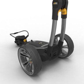 PowaKaddy CT6 GPS  18 Hole Lithium Electric Trolley 2021 - Gun Metal