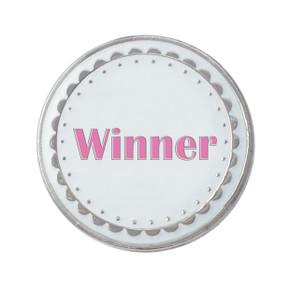 Winner Golf  Ball Marker