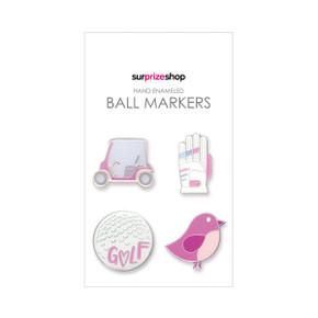 Putt for Birdie Golf Ball Marker Set