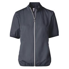 Daily Sports Mia Lightweight Short Sleeve Wind Jacket- Navy