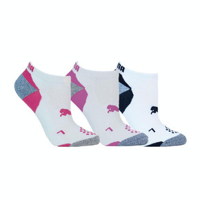 Puma Pounce 3 Pair Pack of Ladies Golf Socks