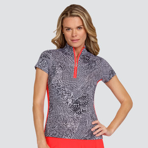 Tail Ladies Golf Neve Short Sleeve Polo - Dart