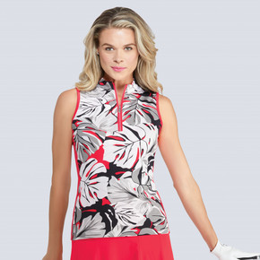 Tail Ladies Golf Sol Sleeveless Polo - Philo