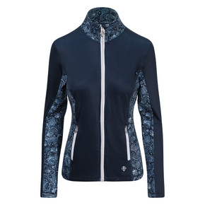 Pure Golf  Breeze Ladies Golf Jacket - Navy