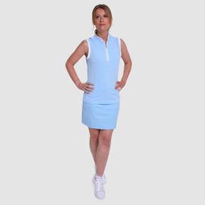 Pure Golf Ladies Calm Skort 50CM- Pale Blue