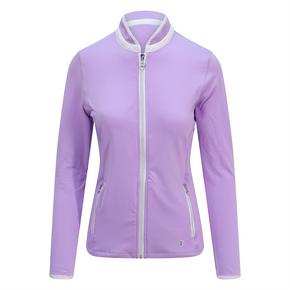 Pure Golf Ladies Mist Full Zip Mid Layer - Lilac
