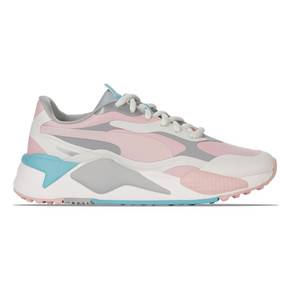 Puma Ladies RS-G Waterproof Golf Shoes- Grey and Peach