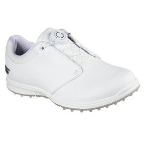 Skechers Ladies Go Golf Elite V.3 Twist and Fit Golf Shoes - White